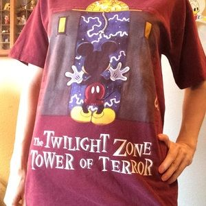 Disney Shirts - DISNEY Tower Of Terror Twilight Zone T-Short